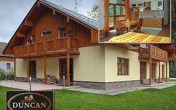Poznejte krásy Janských Lázní! Ubytování pro čtyři osoby na dvě noci v luxusních apartmánech horského penzionu Duncan! Odpočiňte si v Krkonoších s 40% slevou.