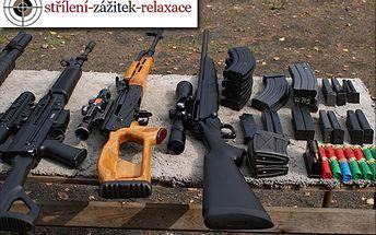 Namířit a pal! Pojďte si zastřílet z celkem šesti zbraní se slevou 60 %! Jen za 1000 Kč je vám mimo jiné k dispozici pistole Desert Eagle známá z kultovních hollywoodských trháků!