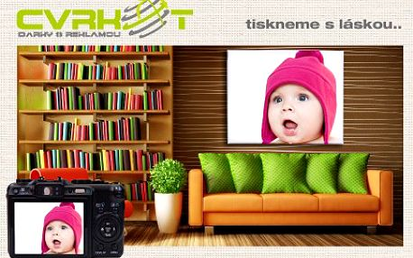 Dejte si se slevou právě teď, fotografické vzpomínky na vaši zeď. 59% sleva na velmi kvalitní fotoplátno rozměru A2 s vaší fotografií a poštovným ZDARMA.