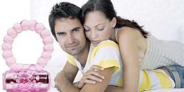 69 Kč za ZPESTŘENÍ VAŠEHO SEXUÁLNÍHO ŽIVOTA – vibrační kroužek, který znásobí rozkoš obou partnerů! Využijte naši slevu 54 % a okořeňte si svůj INTIMNÍ ŽIVOT!