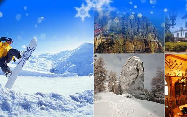 3 dny (2 noci) pro 2 osoby s polopenzí nebo vánoce a Nový rok v Českém Švýcarsku. Sportování, dobré jídlo a relax. To vše v krásné přírodě.