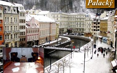 Užijte si víkendový relaxační pobyt pro dva v hotelu Palacký*** přímo na Kolonádě s 50% slevou! Těšte se na masáže, fantastickou kuchyni a zdravotní procházky po lázeňských parcích!