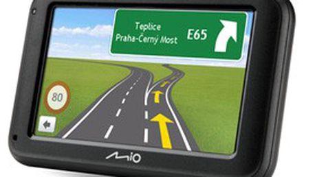 """Skvělá navigace MIO Moov M410 + mapy CELÉ EVROPY (44 ZEMÍ), řazení do jízdních pruhů, VELKÝ displej 4,3"""" NOVINKA Z ŘÍJNA 2011 za akční cenu!"""