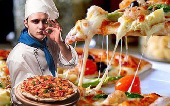 DVĚ italské pizzy v centru Prahy za polovic! S 50% slevou jich můžete mít klidně víc. DVĚ skvělé italské PIZZY v nově otevřené pražské restauraci Actuel.