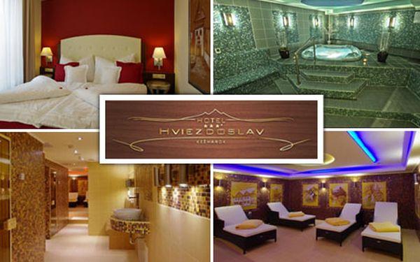 3 849 Kč za 3 denní kouzelný pobyt pod Tatrami pro 2 osoby v luxusní pokoji Hotelu Hviezdoslav s ¾ penzí, neomezeným wellness, welcome drinkem a dalšími výhodami!
