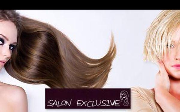 Dopřej svým vlasům luxusní péči, navíc s báječnou 43% slevou! Jen za 790,- Kč si užiješ kompletní kadeřnickou péči v exklusivním salonu, včetně barvení i poradenství!