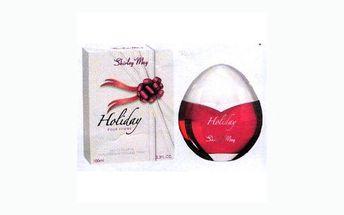 Sleva 60% na exkluzivní parfém SHIRLEY MAY – HOLIDAY EDT, který je vhodný pro nošení přes den i večer a jeho vůně potěší každou ženu!