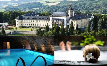 3-dňový rozprávkový pobyt pre 2 osoby na českom zámku CHATEAU HOTEL ZBIROH! V cene ubytovanie, wellness, welcome drink, stredoveký večierok v kráľovskom štýle! Exkluzívna zľava až 75%!