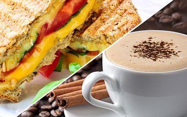Skočte si na skvělou svačinku v italském stylu! Espresso a zapečené toasty s 61% slevou. 127 Kč za kávičku a zapečené toasty se sýrem a šunkou ve Fine club café.
