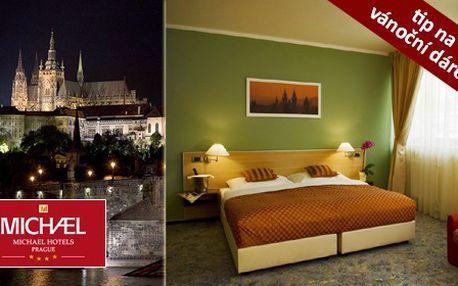 Pobyt pro DVA na 3 dny/ 2 noci v přepychovém čtyřhvězdičkovém hotelu v Praze spolu s bohatou večeří o třech chodech a snídaněmi pro oba. Historie, zábava, noční život, nakupování, vánoční trhy, to je jen špetka inspirace pro příjemné zážitky ve stověžaté Praze.
