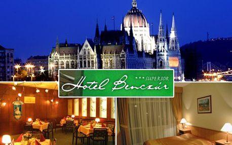 Třídenní romantický pobyt na břehu Dunaje, kde každá láska uzraje. 61% sleva na třídenní pobyt pro DVĚ osoby v hotelu Benczúr*** v Budapešti se snídaní.