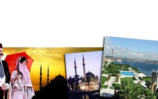 Báječná sleva 36% na 5ti denní letecký zájezd do Istanbulu za pouhých 6999 Kč! Ubytování ve 3*+ superior hotelu se snídaní! Neváhejte a navštivte toto výjimečné město s obrovským množstvím památek a moderních nákupních středisek!