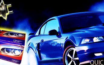 84% sleva na značkové halogenové žárovky pro Vaše auto! Na výběr 2ks H4/12V 55W, nebo H7/12V 55W!!