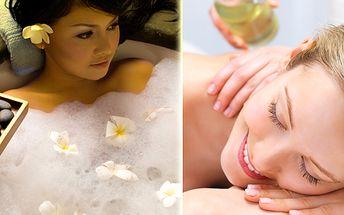 Osvěžte své tělo s léčivou pomocí přírody a využijte 50% slevu! Relax v podobě hodinové rašelinové nebo bylinné koupele a k tomu hodinová olejová masáž celého těla! Navíc 20% sleva z další nabídky!