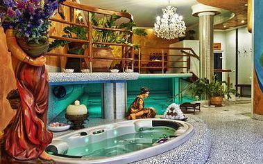 3-hodinový vstup do ájurvédskych kúpeľov RASAJÁNA + ájurvédska relaxačná masáž + 1 procedúra na uvoľnenie stuhnutého svalstva s možnosťou pobytu pre 1 alebo 2 osoby s polpenziou v Golden Royal Boutique hotel & SPA ****! Zľava až do 51%!