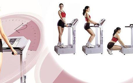 Užijte si 20 minut cvičení na vibrační plošině DREAM HEALTHER s 56% slevou! Toto cvičení bojuje proti celulitidě, snižuje cholesterol, zvyšuje metabolismus. Poukazy jsou platné až do konce BŘEZNA 2012!