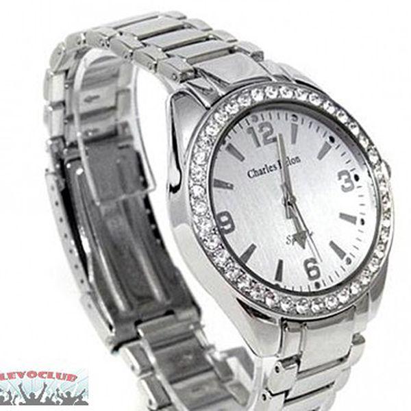 Jen 499,- Kč značkové elegantní dámské hodinky Charles Delon. Nyní akční sleva 72%! Pouze 20 kusů!