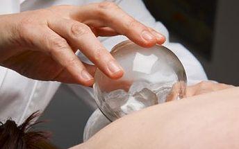 Baňková masáž celého těla. Stará čínská metoda boje proti ztuhlému svalstvu, bolesti zad a nohou, celulitidě.
