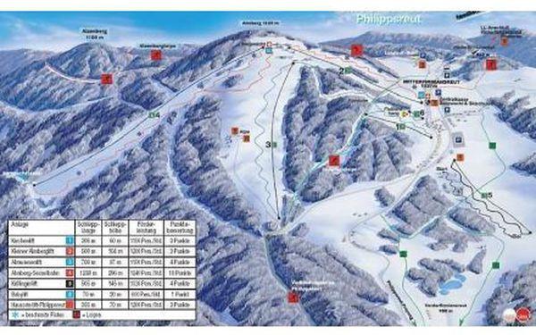 3 dny lyžování pro dva v Bavorském lese - se snídaní za úžasnou cenu!