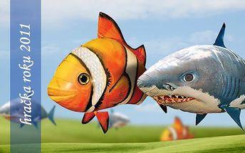 HIT LETOŠNÍCH VÁNOC - LÉTAJÍCÍ RYBA. Chcete vidět neuvěřitelné pohledy Vašich dětí? Využijte skvělé nábídky na létající rybu, která se stala v USA hračkou roku 2011.