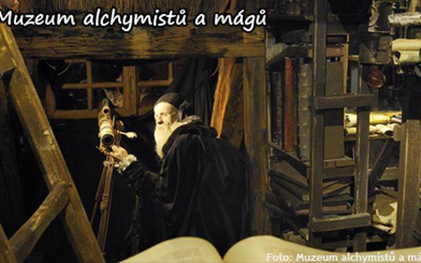 98 kč za vstup do interaktivního muzea alchymistů a mágů staré prahy pro 1 osobu. Poznejte skrytá tajemství magistra kelleyho!