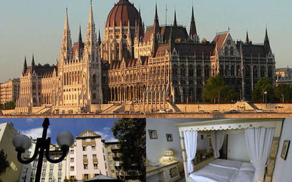 Nezabudnuteľný 3-dňový alebo 4-dňový pobyt v BUDAPEŠTI pre 2 osoby s raňajkami v štýlovom hoteli Sissi***! Romantické ubytovanie v blízkosti centra a nádherných historických pamiatok svetoznámeho kúpeľného mesta so zľavou až 53%!