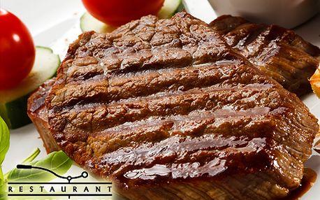 Večeře pro dva: steak z pravé svíčkové a filátko ze sumce s 47% slevou