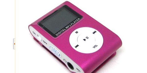 Mějte svoji oblíbenou hudbu stále u sebe s MINI přehrávačem MP3! Model s displayem! Poštovné ZDARMA!