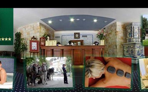 Luxusný 5 denný liečebný pobytový balíček pre DVOCH v 4hviezdičkovom hoteli v Mariánskych Lázních obsahujúci 10 liečebných procedúr a vstup do hotelového wellness centra.