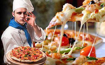 DVĚ italské pizzy v Plzni za polovic! S 50% slevou si jich můžeš dát klidně víc. Vyberte si ze 35 druhů DVĚ skvělé PIZZY v plzeňské restauraci Atlantic s 50% slevou.