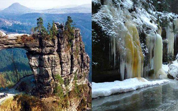 Přijeďte prožít pohádkovou zimu do penzionu v samém srdci Národního Parku ČESKÉ ŠVÝCARSKO za pouhých 1080,- Kč pro DVĚ osoby na 3 dny a 2 noci!