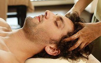 99 Kč za Indickou antistresovou masáž hlavy, šíje, ramen a jako bonus masaž obličeje.