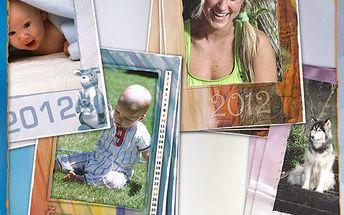 Gigantický 13listý nástěnný kalendář s vašimi fotkami s 60% slevou!