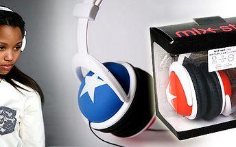 Super sluchátka zn.Mix style DJ s hvězdou za skvělých včetně poštovného!STEREO SLUCHÁTKA PRO MP3, MP4, IPOD iPHONE, walkman mobily!