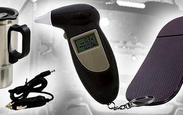 Skvělý vánoční dárek pro všechny řidiče za 699 kč včetně poštovného !ALKOHOLTESTER Velmi přesný, zobrazuje reálný obsah alkoholu v organismu. K tomu Termohrnek a Nanopodložka !