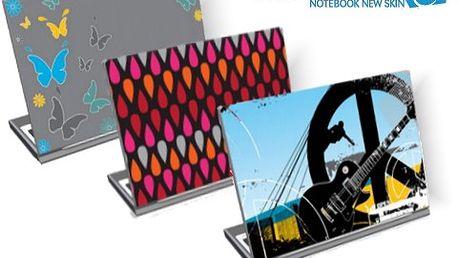 Stylový notebook s 50% slevou! Samolepky na počítač jen za 177 Kč!
