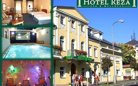 Poznejte Františkovy Lázně! 3 dny pro dva v hotelu Réza s 42% slevou!