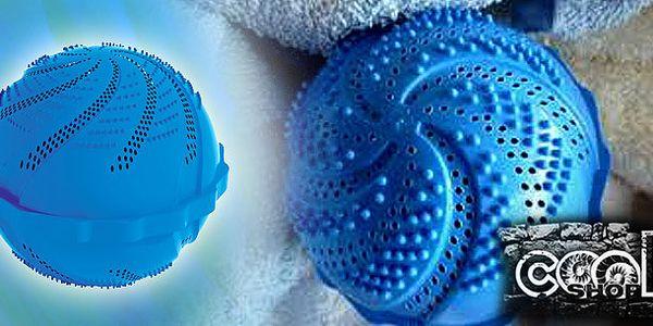 Skvělá prací koule Clean Ballz - obsahuje množství keramických kuliček, které změní povrchové napětí vody a tím můžete prát až 1000x bez prášku! Poštovné již v ceně!
