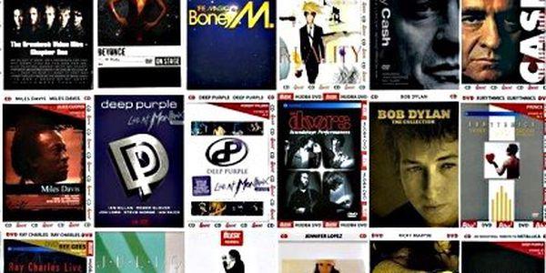 Kolekce 40 CD a DVD toho nejlepšího ze zahraniční populární hudby. Beyonce, Johnny Cash, Oasis a další v unikátní kolekci
