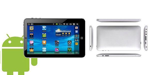 Dotykový tablet LENTEC WM865 s procesorem 800 MHz + 300 MHz DSP, RAM DDR2, displej WSXGA Glossy LED s G-senzorem, webkamerou a WiFi, přivítejte pokrok se slevou 44% a poštovným v ceně!