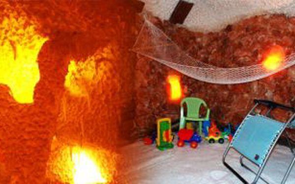 59 Kč za 45 minut relaxace v solné jeskyni vhodnotě140Kč