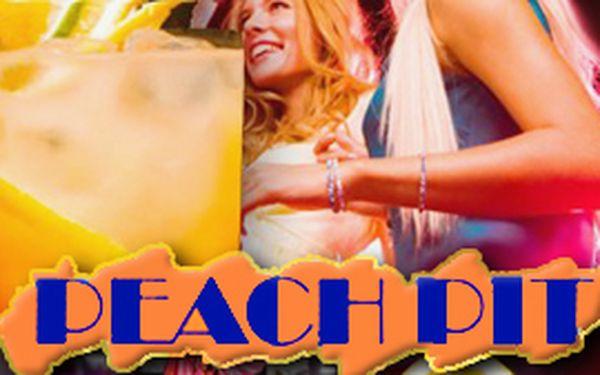 19 Kč za voucher na 50% slevu na veškeré koktejly v Peach Pitu.
