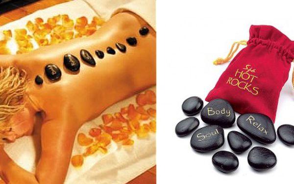 Dopřejte si luxusní masáž lávovými kameny v pohodlí vašeho domova! 9 luxusních masážních lávových kamenů vhodných i pro domácí použití, uložených v hedvábném pytlíčku. Skvělý dárek pro Vaše blízké, rodinu či kamarády! Velmi vhodné pro nadcházející chladné měsíce