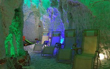 Myslete na zdraví, čas v solné jeskyni všechny neduhy napraví. Podpořte své zdraví léčivou silou soli z Mrtvého moře a užívejte si relax v solné jeskyni se slevou 51 %.