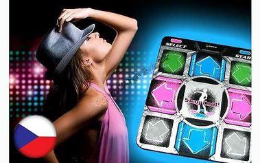 Elektronická taneční podložka + CD StepMania se slevou 51% za pouhých 425 Kč!!