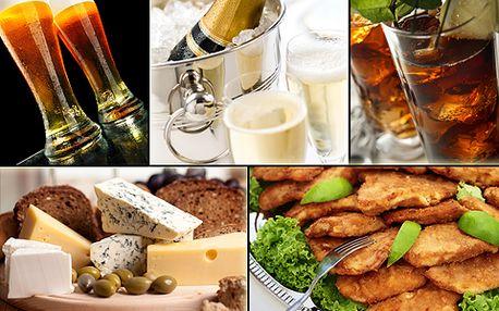 Užijte si oslavenecké menu plné jídla i pití s 50% slevou!