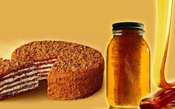 Chystáte oslavu nebo jen máte rádi sladké? Kupte si ORIGINÁL MEDOVNÍK s jedinečnou slevou 43%! Na výběr velký nebo malý medovník! Při zakoupení voucheru získáváte navíc 20% slevu na dárkové koše!