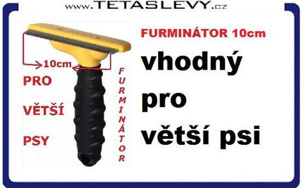 KARTÁČ NA PSA FURMINÁTOR 10cm ze slevou jen 100ks skladem 199 KČ