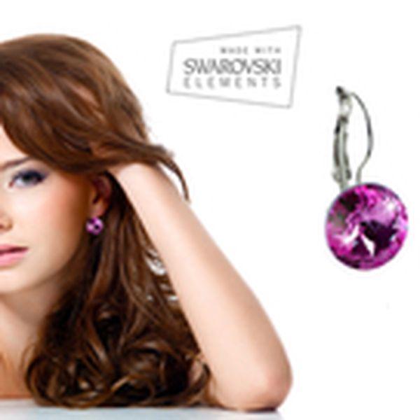 229 Kč místo 460 Kč - Blýskněte se! Krásné náušnice s krystaly Swarovski® Elements, 7 zářivých odstínů se slevou 50 %. Ideální vánoční dárek pro každou ženu!