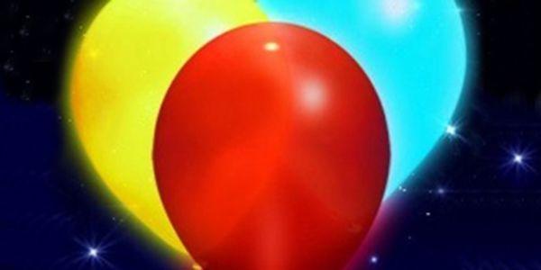 NOVINKA V ČR! Sada 10 ks svítících nafukovacích party balónků za skvělých 149 Kč! Rozsviťte a zpestřete každou oslavu, narozeniny, Vánoce či Silvestra se slevou 57 %!
